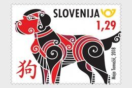 Slovenië / Slovenia - Postfris / MNH - Jaar Van De Hond 2018 - Slovenië