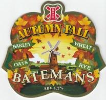 BATEMANS BREWERY (WAINFLEET, ENGLAND) - AUTUMN FALL - PUMP CLIP FRONT - Signs