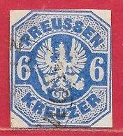 Prusse N°26 6k Outremer 1867 O - Prusse