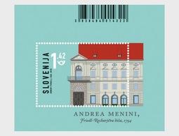 Slovenië / Slovenia - Postfris / MNH - Sheet Architectuur 2018 - Slovenië