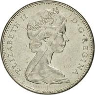 Canada, Elizabeth II, 5 Cents, 1965, Royal Canadian Mint, Ottawa, TB+, Nickel - Canada