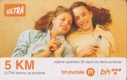 TARJETA TELEFONICA DE BOSNIA Y HERZEGOVINA (PREPAGO). 01.10.2011 (545) - Bosnia