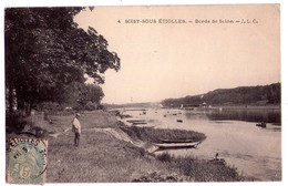 1392 - Soisy Sous Etiolles  ( S.& O. ) - Bords De Seine - J.L.C. - N°4 - - Autres Communes