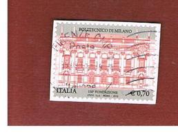 ITALIA REPUBBLICA  -   2013   -   POLITECNICO DI MILANO -   USATO  ° - 6. 1946-.. Repubblica