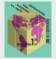 Slovenië / Slovenia - Postfris / MNH - Sheet Wereld Design Dag 2018 - Slovenië
