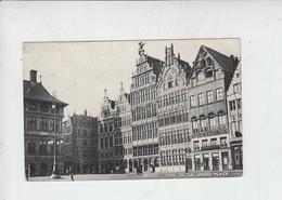 BELGIO  1909 - Anvers - Coin De La Grand'Place - Antwerpen