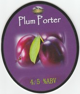 ELGOOD'S BREWERY (WISBECH, ENGLAND) - PLUM PORTER - PUMP CLIP FRONT - Signs