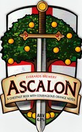 EVERARDS BREWERY (NARBOROUGH, ENGLAND) - ASCALON - PUMP CLIP FRONT - Signs