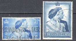 Great Britain 1948 - Mi.233-34 - Used - Usados