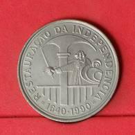 PORTUGAL 100 ESCUDOS 1990 -    KM# 651 - (Nº22698) - Portugal