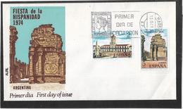 Espagne - Enveloppe Premier Jour - Monuments - Châteaux - Architecture - FDC
