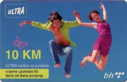 TARJETA TELEFONICA DE BOSNIA Y HERZEGOVINA (PREPAGO). 10.01.2008 (533) - Bosnia