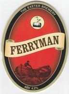 EXETER BREWERY (EXMINSTER, ENGLAND) - FERRYMAN - PUMP CLIP FRONT - Signs