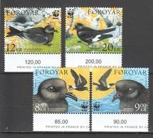 W426 2005 FOROYAR WWF FAUNA BIRDS 1SET MNH - W.W.F.