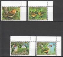 W427 COOK ISLANDS WWF FAUNA BIRDS 1SET MNH - W.W.F.