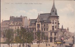 CPA - 20. NANCY Place Et Rue St Jean - Nancy