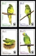 (WWF-323) W.W.F Mauritius Parakeet / Bird MNH Stamps 2003 - W.W.F.