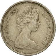 Grande-Bretagne, Elizabeth II, 5 New Pence, 1975, TB+, Copper-nickel, KM:911 - 1971-… : Monnaies Décimales