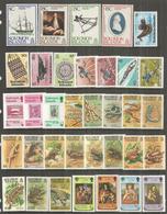 ILES SALOMON.  Année 1979.   35 Timbres + Bloc-Feuillet Neufs **. Côte 45.00 Euro - Salomon (Iles 1978-...)
