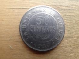 Bolivie  50  Centavos  1997  Km 204 - Bolivie