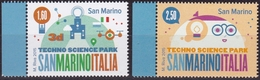 2015 SAN MARINO PARCO TECNOLOGICO EMISSIONE CONGIUNTA ITALIA Joint Issue  MNH - Joint Issues