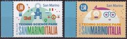 2015 SAN MARINO PARCO TECNOLOGICO EMISSIONE CONGIUNTA ITALIA Joint Issue  MNH - Emissioni Congiunte
