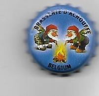 BELGIQUE / CAPSULE BIERE BRASSERIE D'ACHOUFFE / FOND BLEU FONCE - Bière