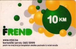 TARJETA TELEFONICA DE BOSNIA Y HERZEGOVINA (PREPAGO). 30.09.2009 (551) - Bosnia
