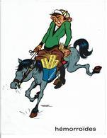 PUBLICITE LABORATOIRES BYLA - RECTOCLAR  Suppositoires - Hémorroïdes - Dessins Humoristiques Illustrateur à Identifier - Advertising
