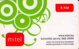 TARJETA TELEFONICA DE BOSNIA Y HERZEGOVINA (PREPAGO). 01.05.2009 (552) - Bosnia
