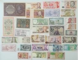 LOT De 30 BILLETS Du MONDE Tous Différents - N°7 - Coins & Banknotes