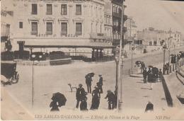 Les Sables D'olonne - L'hotel De L'océan Et La Plage - Sables D'Olonne