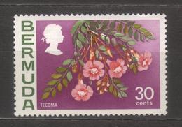 8591- Bermuda, British Colonies , Scott 267a Wmk 314 Upright ** MNH - Great Britain (former Colonies & Protectorates)