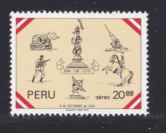 PEROU AERIENS N°  438 ** MNH Neuf Sans Charnière, TB (D7185) Journée De L'armée - Pérou