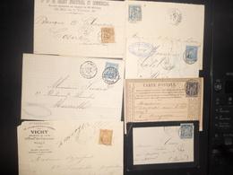 France Sage Lot De 15 Lettres - France
