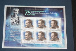 Russia 05.08.2016 Mi # 2341 Kleinbogen, SC # L 2126 55th Anniversary Of The First Long Spaceflight By G. Titov, OVPT - Blocs & Hojas