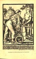 Nach Einem Linolschnitt Von Georg Sluntermann Von Langenwende / Druck, Entnommen Aus Zeitschrift /1938 - Books, Magazines, Comics