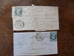 17.05.18-    LOT DE LAC  Texte A VOIR§§ - Postmark Collection (Covers)
