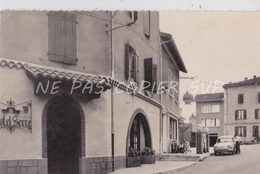 CPSM ALBOUSSIERE 07 HOTEL SERRE   STATION ESSENCE SHELL - France