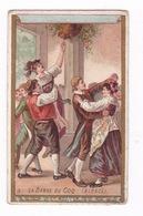 Jolie Chromo Non Publicitaire Fin XIXe Siècle, La Danse Du Coq (Alsace) - Chromos