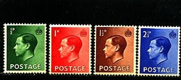 GREAT BRITAIN - 1936  EDWARD VIII SET  MINT - 1902-1951 (Re)