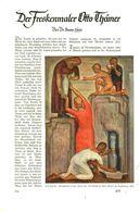 Der Freskenmaler Otto Thämer / Artikel, Entnommen Aus Zeitschrift /1938 - Books, Magazines, Comics