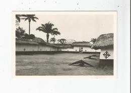 ABOMEY 9 CARTE PHOTO  L'ENTREE DU MUSEE ACTUEL ET LES CANONS DES ROIS - Dahomey