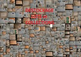 DESTOCKAGE Lots Et Collections - Thématiques, Enveloppes, Timbres Etc - Forte Valeur Générale - 300 Photos - Collections (sans Albums)