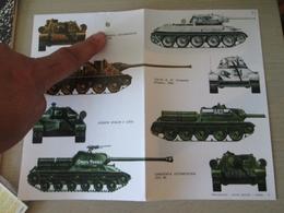 DEC814 N°21 Planche De Décals ESCI Pour Maquettes 1/35e  Chars Russes 39-45  T-35 SU-100  JS-2 SU-85  , Permets De Réali - Transfer
