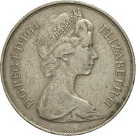Grande-Bretagne, Elizabeth II, 10 New Pence, 1974, TB+, Copper-nickel, KM:912 - 1971-… : Monnaies Décimales