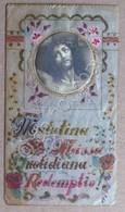 Santino - Holy Card - Matutina Missa Quotidiana Redemptio - Pergamena - Otras Colecciones
