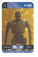 Carte Leclerc STAR WARS  N° 40 K-2S0 - Other Collections