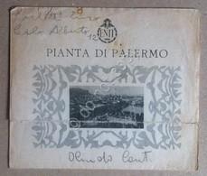 ENIT - Agenzia Nazionale Italiana Del Turismo - Pianta Di Palermo - De Agostini - Altre Collezioni