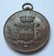 Médaille De La Ville De Saumur - France